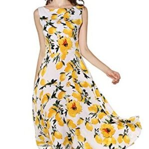 Dresses & Skirts - Gorgeous like NEW Lemon Flare Dress